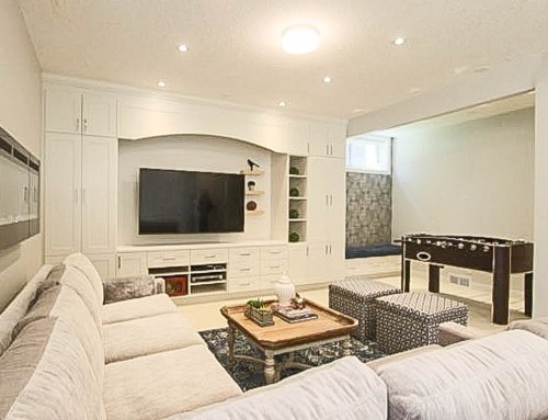 A BASEMENT WITH STYLE